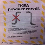 Nice Product Recall, Ikea