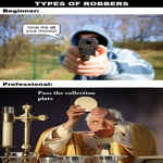 Different Types Of Robbers