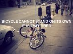 tired bicycle
