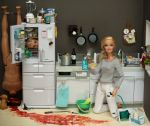 What happens when barbie gets pissed