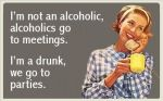 the difference between alcoholics and drunks