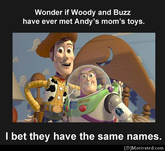 Good Ol' Woody And Buzz