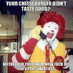 your cheeseburger didn't taste good?