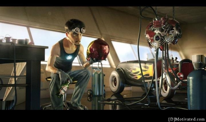 If Pixar Did Iron Man