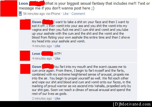 What Is Your Biggest Sexual Fantasy?