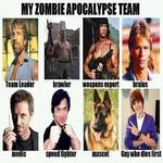 the ultimate zombie apocalypse zombie team