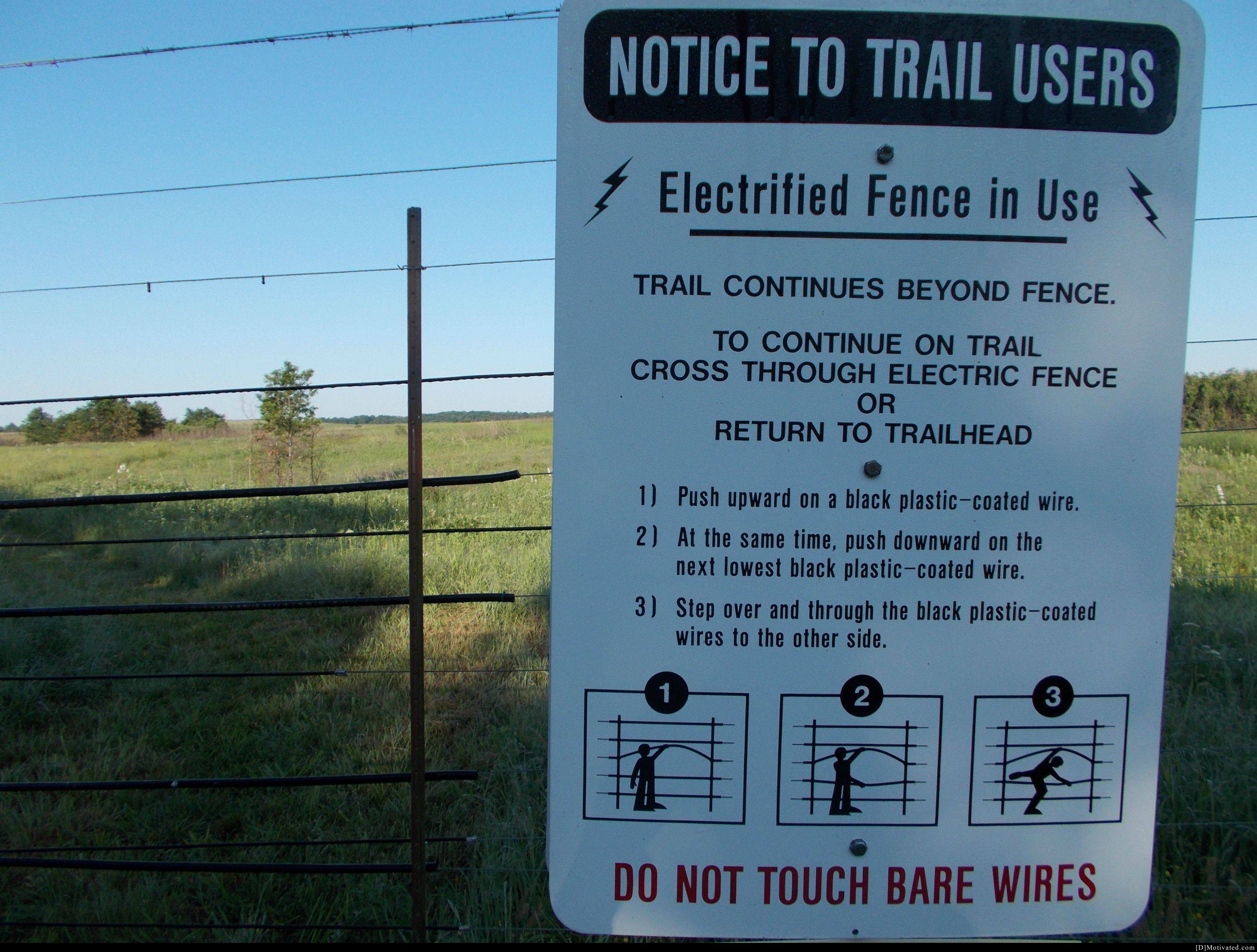 Notice To Trail Users