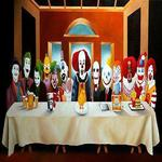 either the funniest or scariest last supper