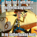 woody's had it