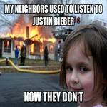 they used to listen to justin bieber