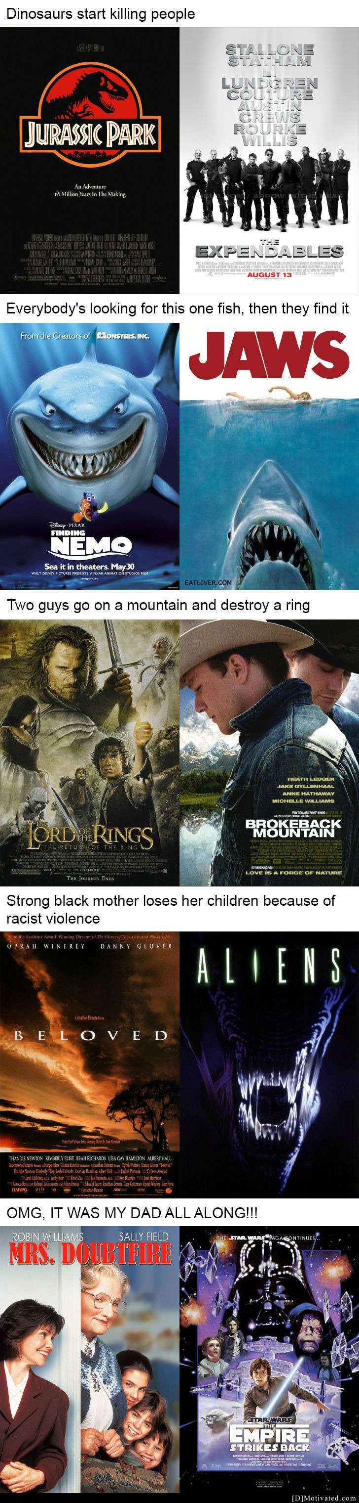 Different Movies With The Same Plot