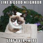 grumpy neighbor