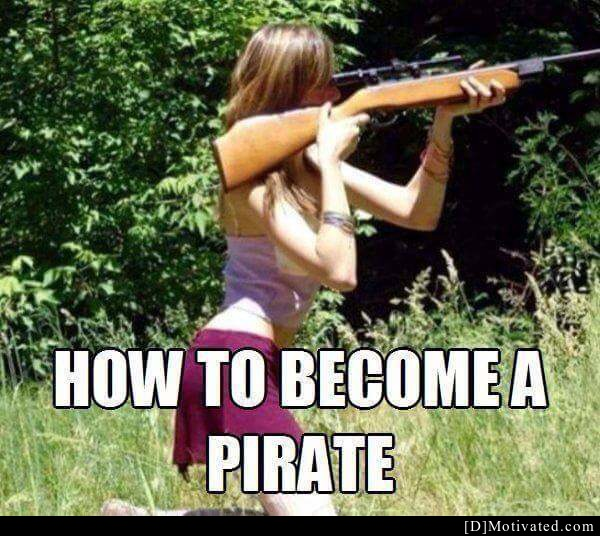 How To Become A Pirate The Easy Way