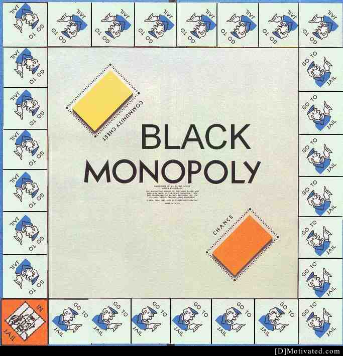 Long Lost Version Of Black Monopoly