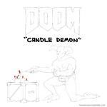 doom's fearsome candle demon