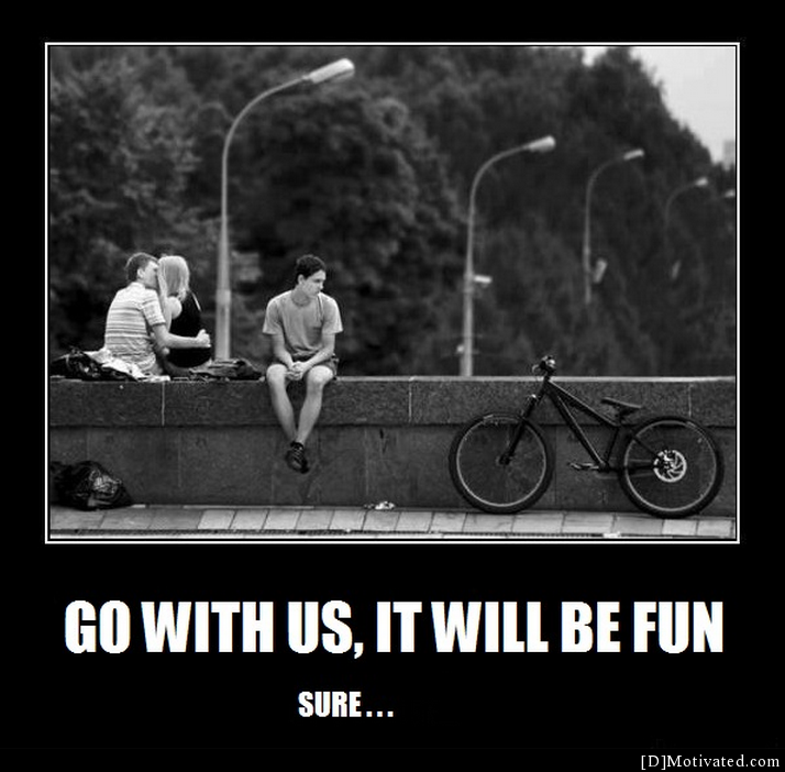 Go With Us, It Will Be Fun