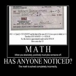 math, has anyone noticed?
