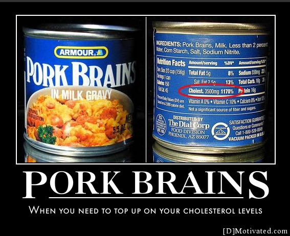 Motivated | Posters | Pork Brains Canned Food