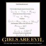 girls are evil