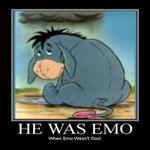 he was emo