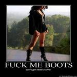 fuck me boots