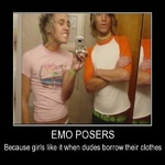 emo posers