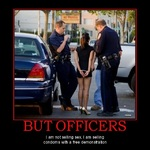 but officers