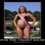 for the talent show