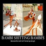 bambies shitting bambie's