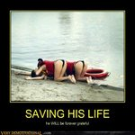 saving his life