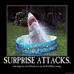 surprise attacks.