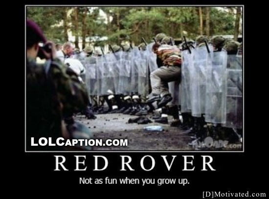 Red Rover - Not As Fun When You Grow Up