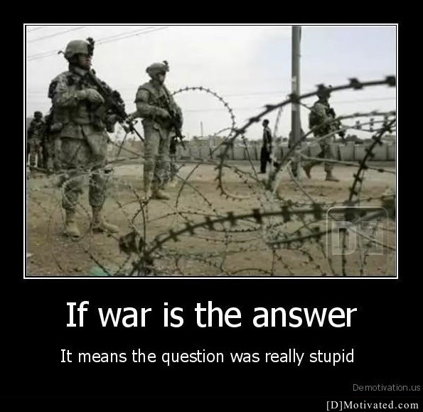 If War Is The Answer